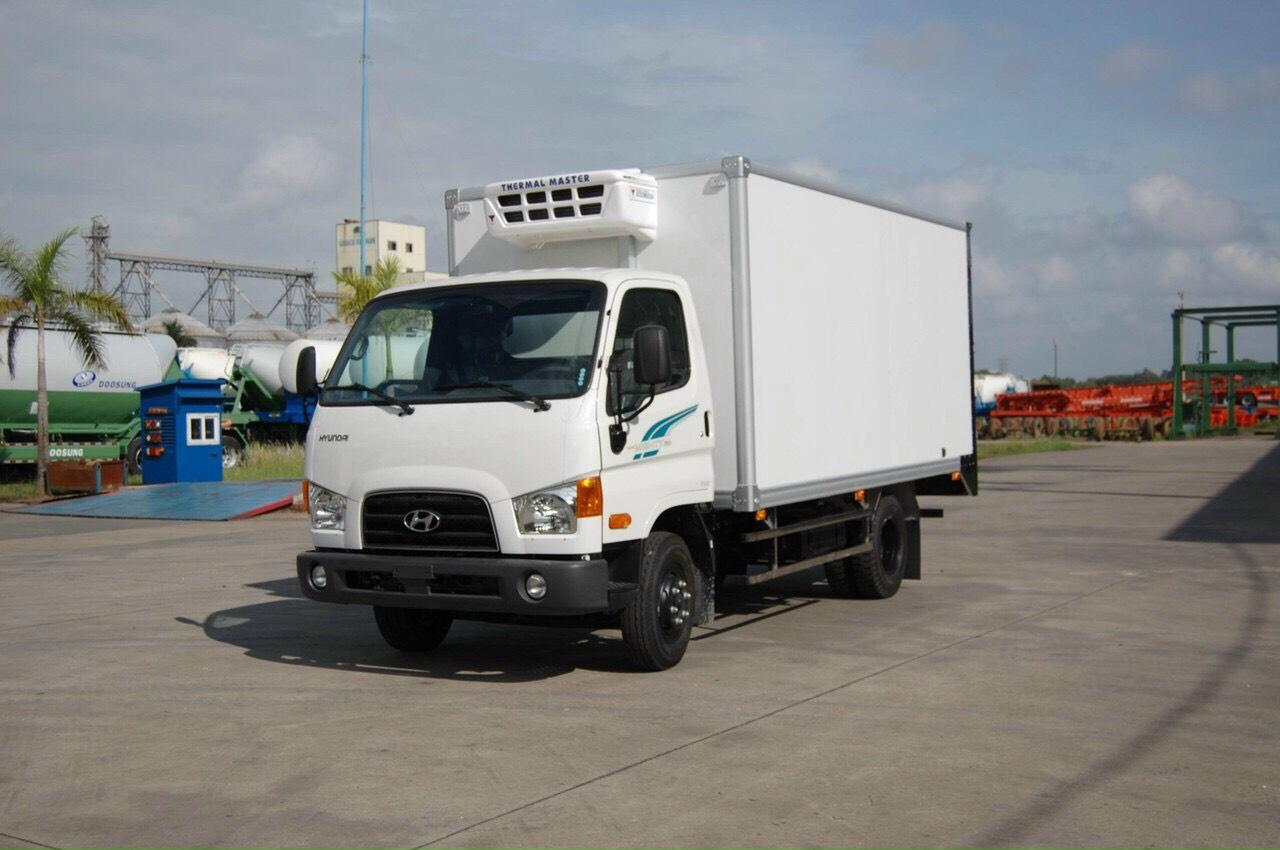 xe tải đông lạnh 5 tấn Hyundai 110SP
