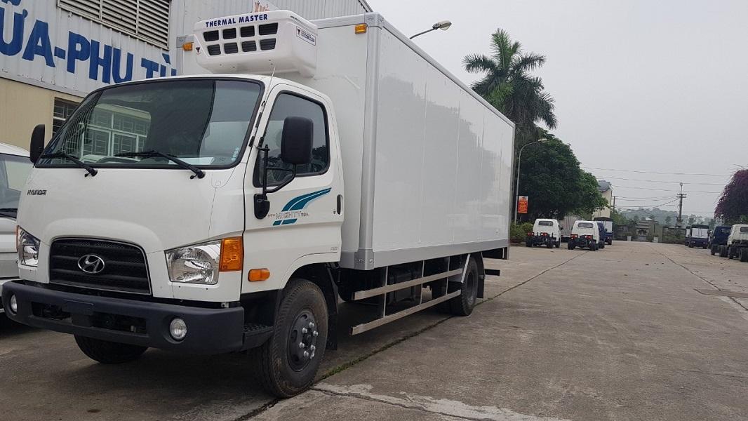 Xe tải đông lạnh 7 tấn Hyundai 110SL