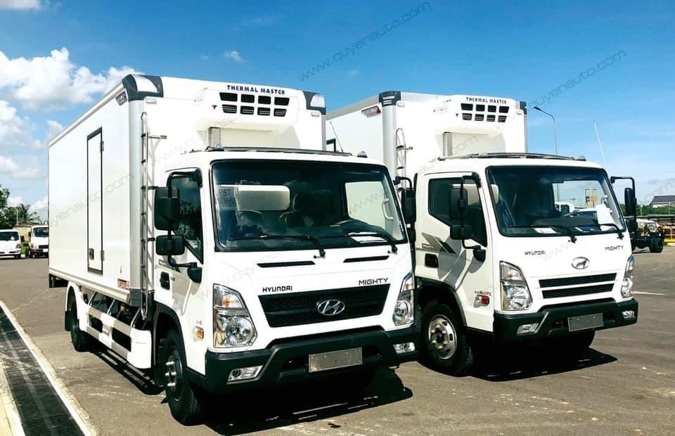 Xe tải thùng đông lạnh 7 tấn
