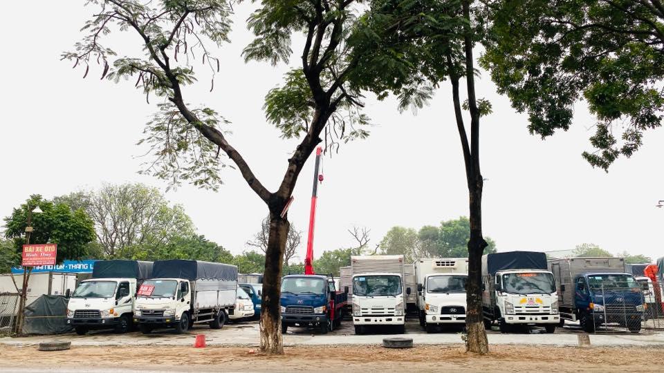 Bãi xe tải cũ Lai Châu