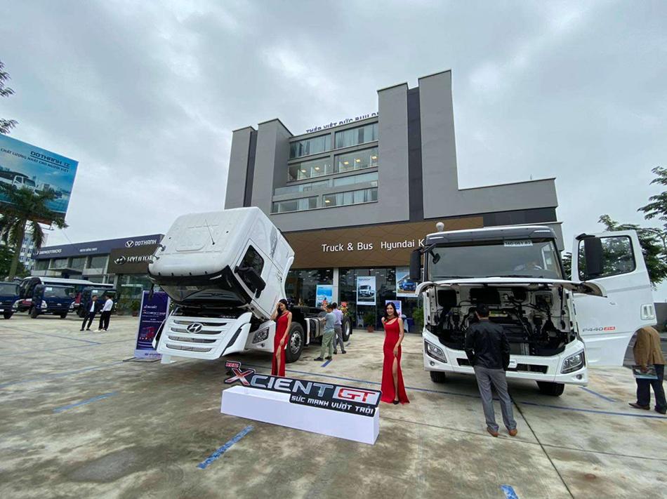 Đại lý xe tải Hyundai Kinh Bắc