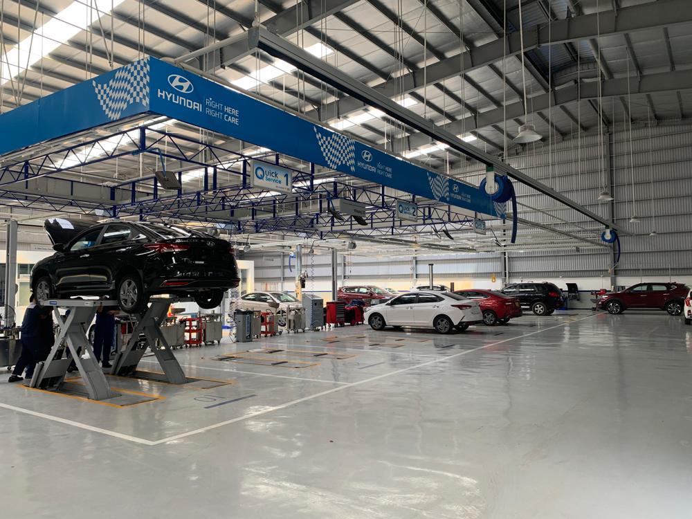 Địa điểm bảo hành xe tải Hyundai Kinh Bắc