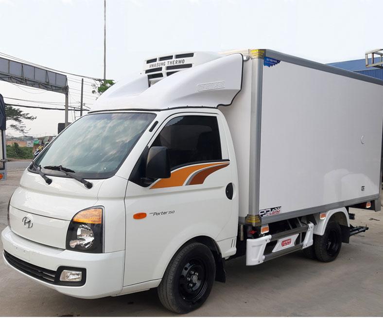 Đóng thùng đông lạnh xe Hyundai H150