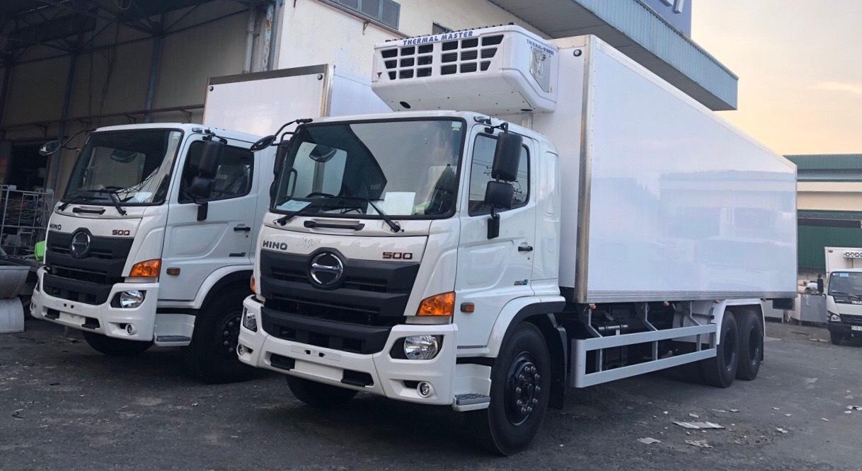 Đóng thùng xe tải Hino