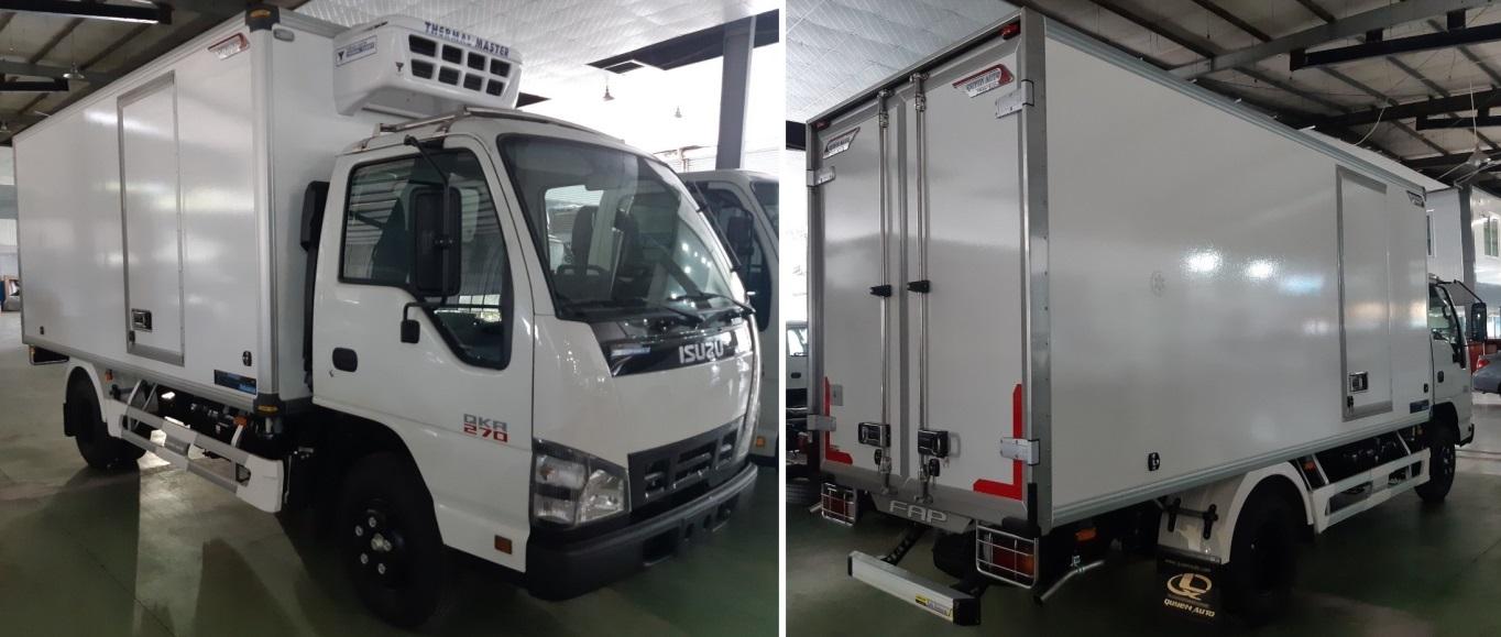 Đóng thùng đông lạnh xe tải ISUZU