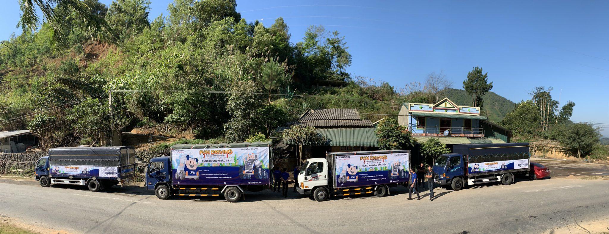 Hyundai Bắc Việt tổ chức lái thử xe