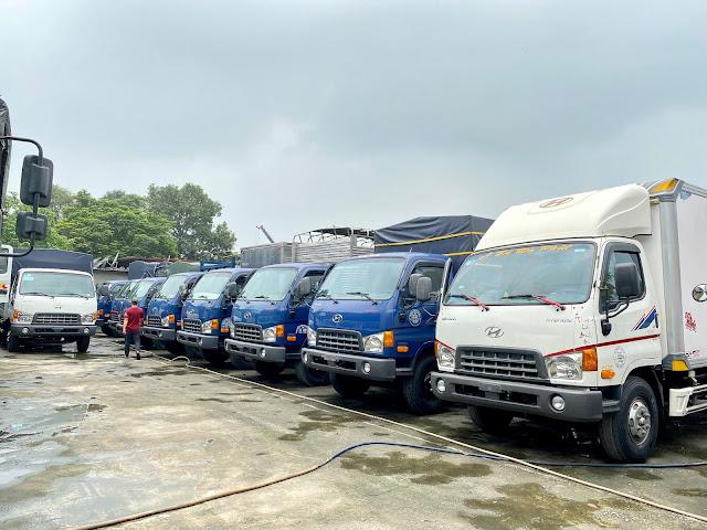 Mua bán xe tải 7 tấn 8 tấn cũ ở Lào Cai