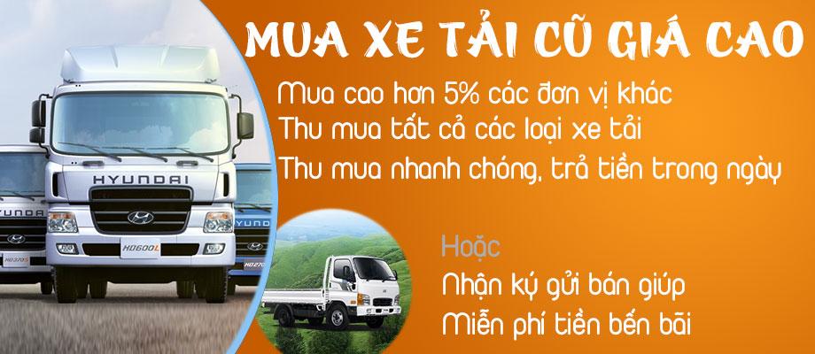 Mua bán xe tải cũ ở Lai Châu