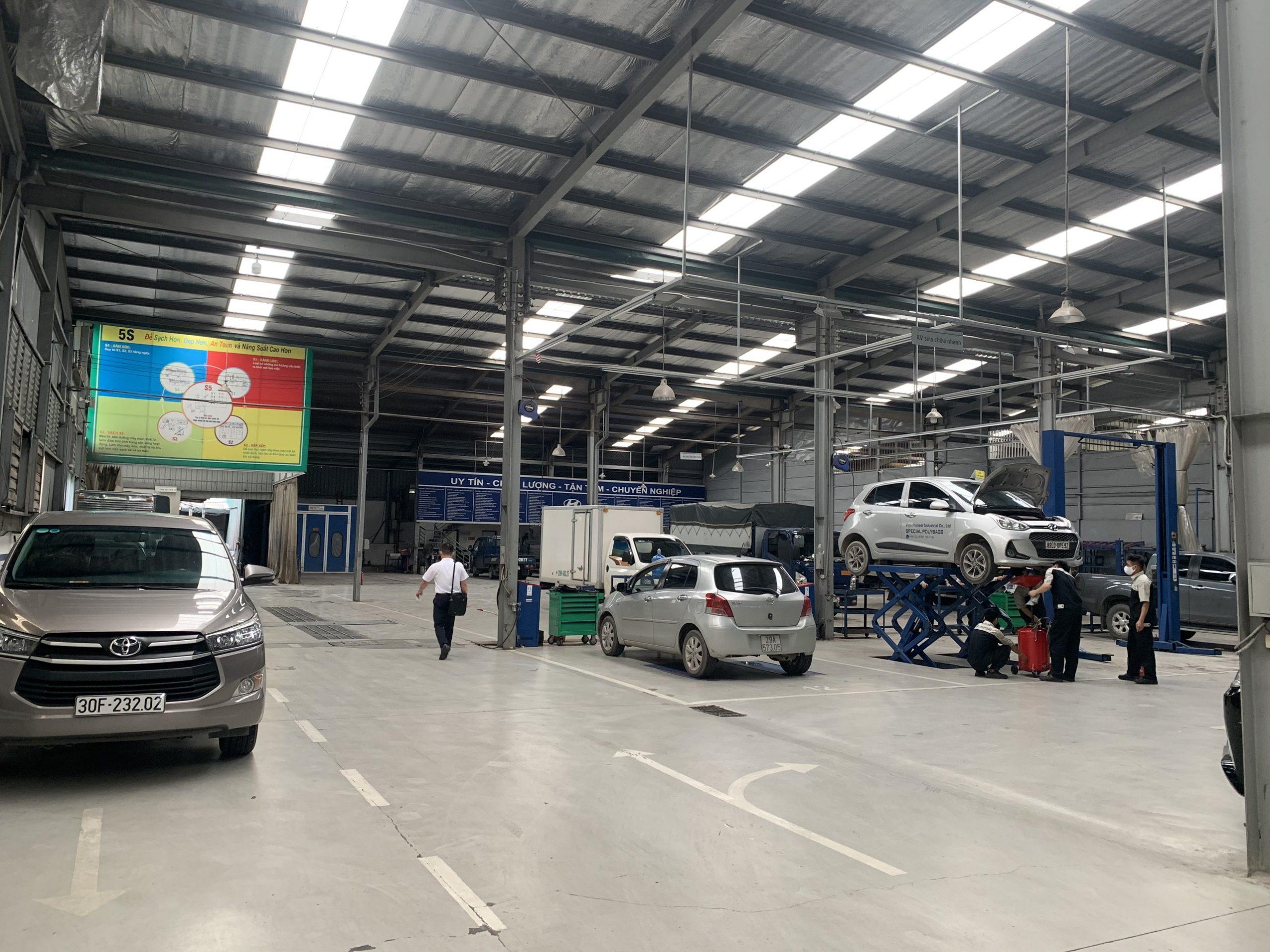 Trung tâm bảo hành xe tải Hyundai Bắc Việt