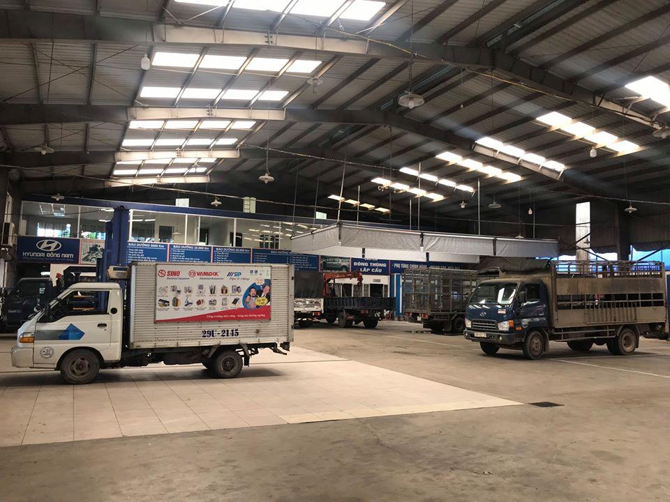Trung tâm dịch vụ sửa chữa Hyundai Đông Nam