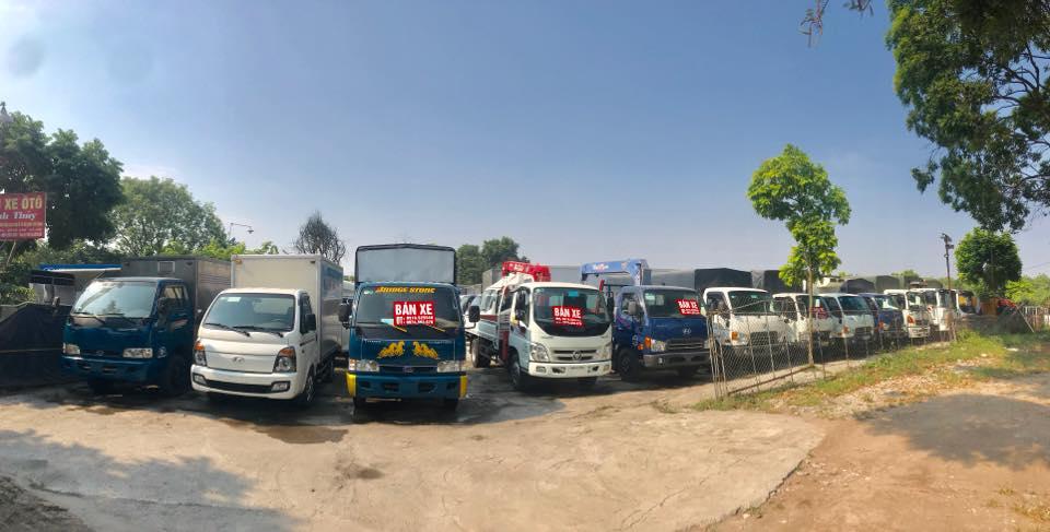 Trung tâm mua bán xe tải cũ ở Lai Châu
