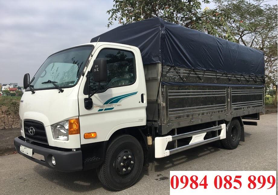 Xe tải Hyundai 110SP thùng bạt