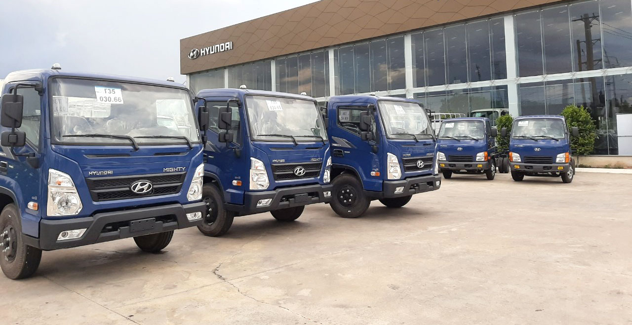 Xe tải Hyundai EX6
