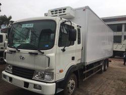 Hyundai HD240 thùng đông lạnh 15 tấn