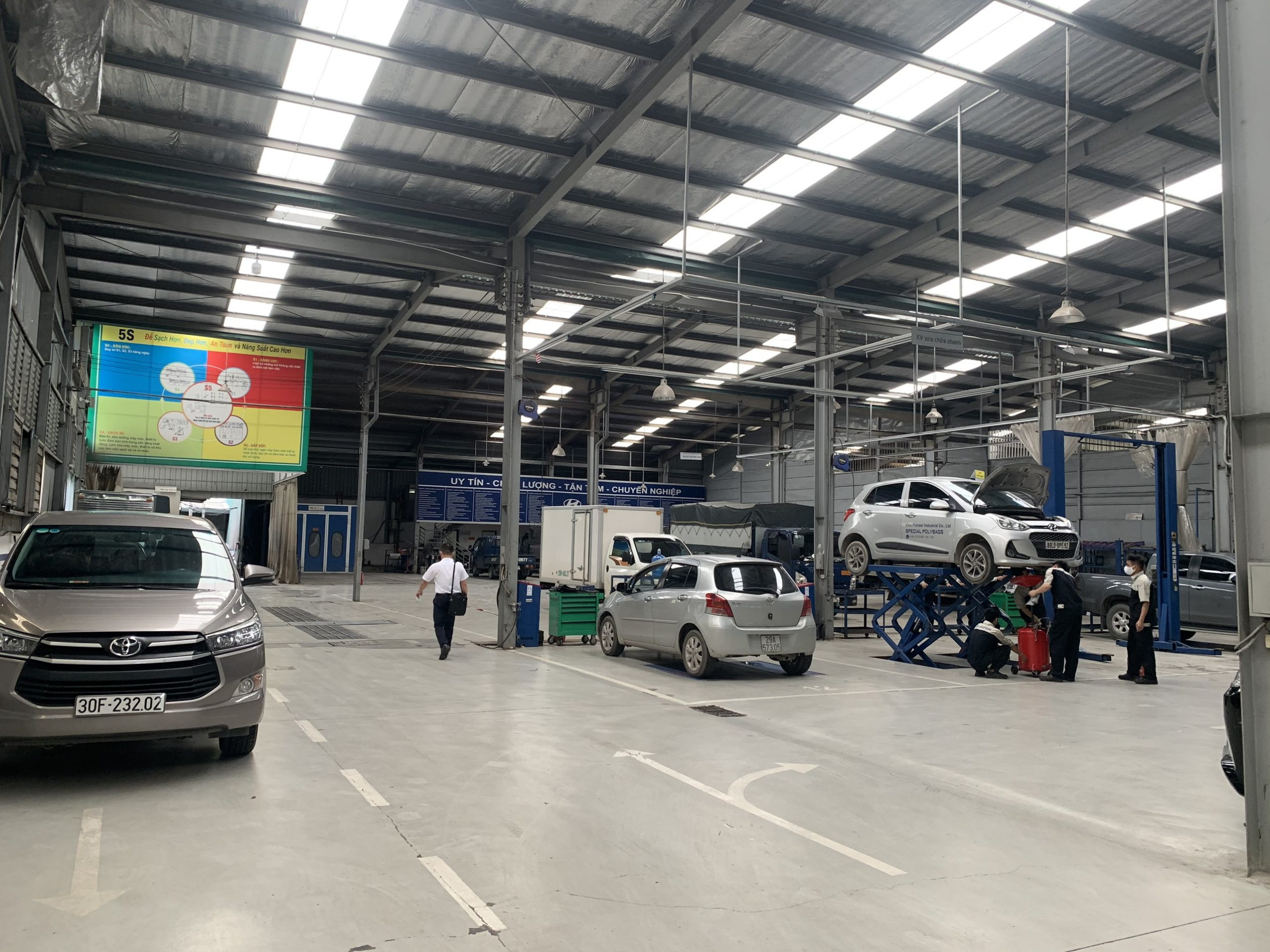 Xưởng dịch vụ Hyundai Bắc Việt