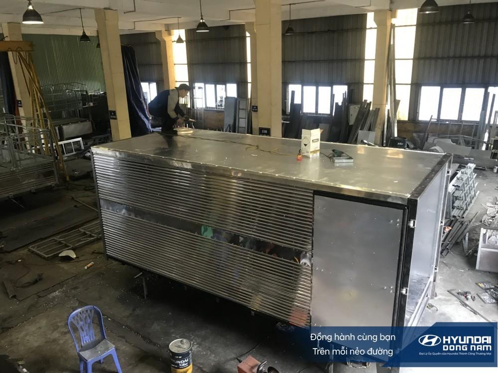 Xưởng đóng thùng Hyundai Đông Nam